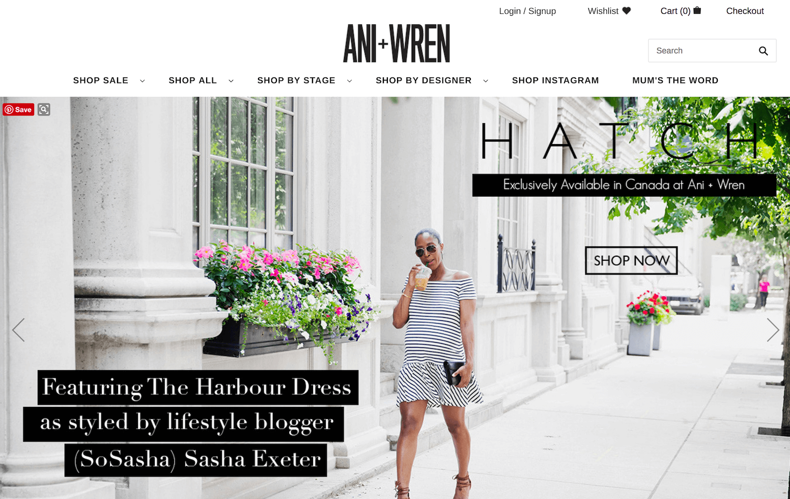 Ani+Wren Maternity Boutique