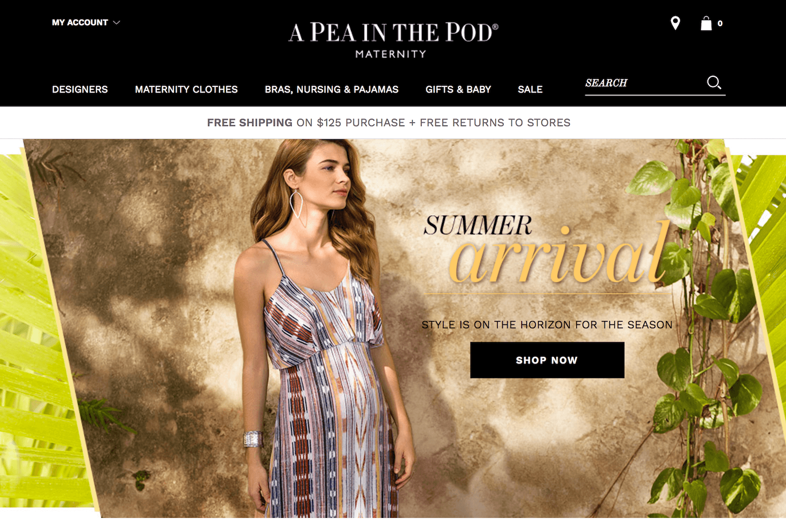 A Pea in the Pod Boutique Maternity Store